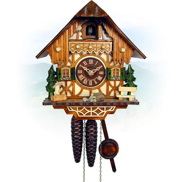 Kuckucksuhr Laval, August Schwer: Kleines Schwarzwald-Haus