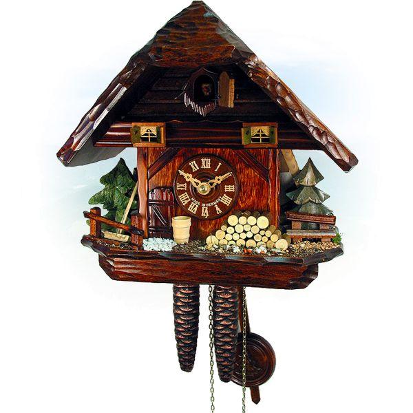 Kuckucksuhr Quebec, August Schwer: Kleines Schwarzwald-Haus