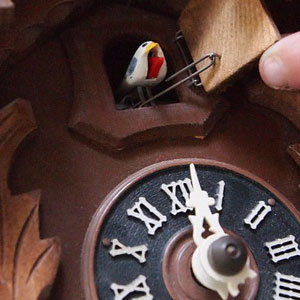 Chalet Cuckoo Clocks From The Black Forest Are Very Loving And Detailed