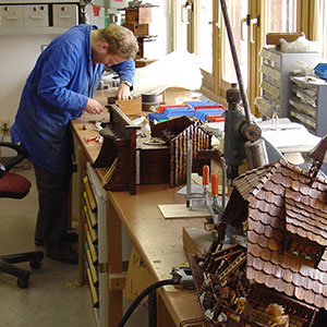 Traditional Manufacture of original Black Forest Cuckoo Clocks
