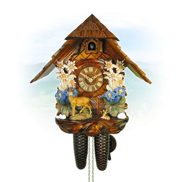 Kuckucksuhr Moers, August Schwer: Edelweiss, Rehgruppe
